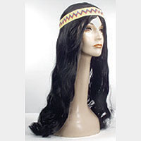 Lacey Wigs - Hippy with Band - AT6015 - Price: $19.00