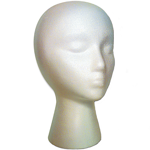 Mannequin - Styro Head - Accessories